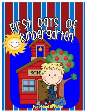 Check our First Days of Kindergarten