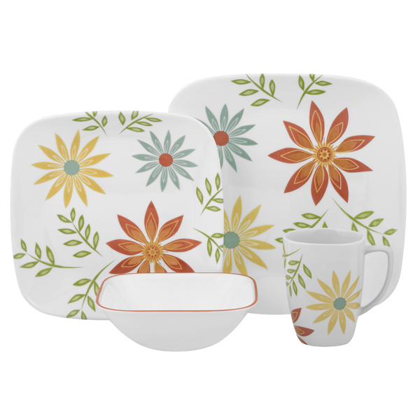 Thursday August 18 2011  sc 1 st  Why Corelle? : corelle squared pattern dinnerware - pezcame.com