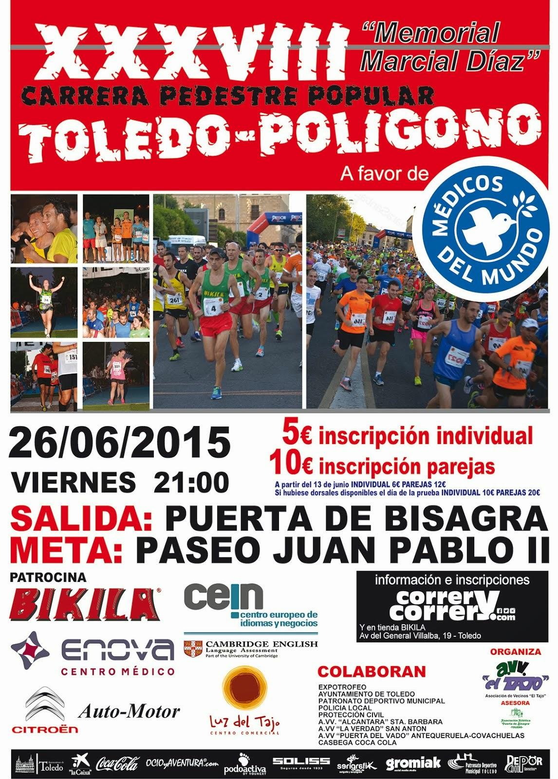 XXXVIII Carrera Popular Toledo-Polígono