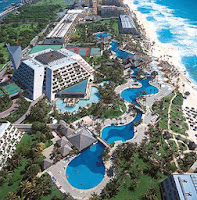 Oasis Cancun, all inclusive spring break, inertia tours
