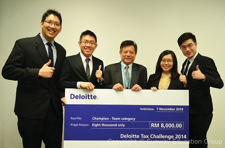 deloitte tax case study competition Team of poole college accounting students headed to deloitte national fantaxtic competition.