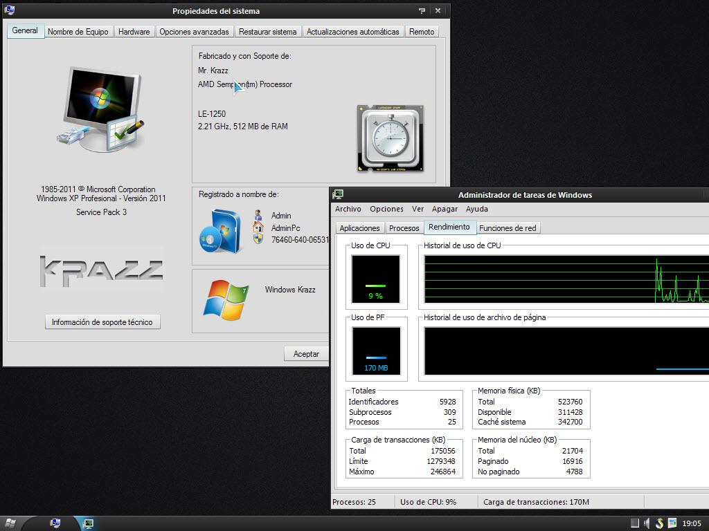 Windows Krazz v4 [Español] (Actualizado Noviembre + Drivers)