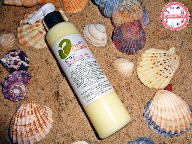Unica Cosmetics - Olivo, naturalne mleczko do demakijażu z olejkami i hydrolatami.