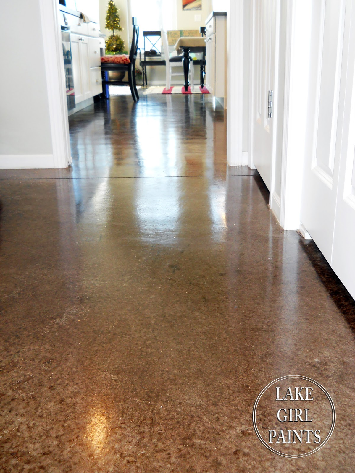 Lake living in nebraska home tour debbiedoo 39 s - Concrete floors in home ...