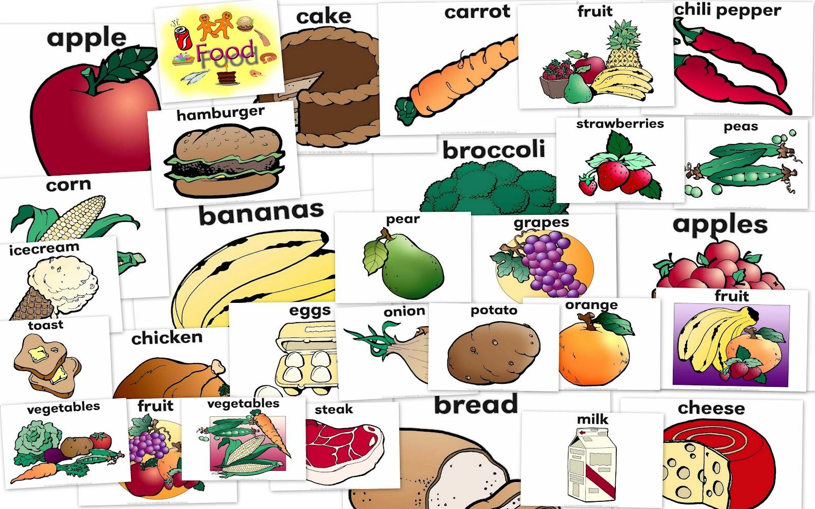 3 unit 4 i like fish english bibei - Alimentos en ingles vocabulario ...