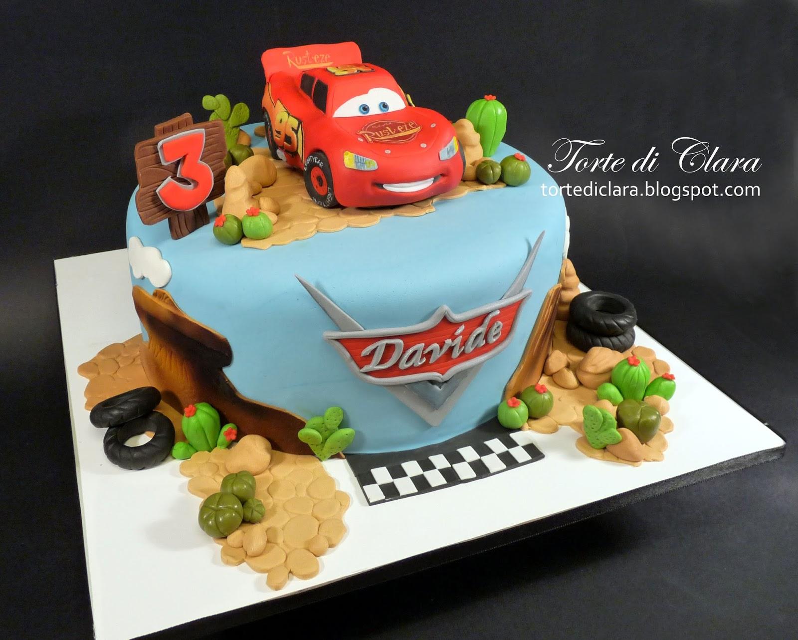 Torte Cake Design Di Cars : Torte di Clara: Cars cake (3)