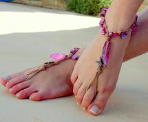 Yoga Crochet Barefoot Sandals