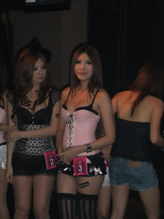 Li Xiao Xing Taiwan Sexy Model Sexy Pink Dress In Night Club 12