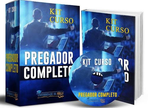Curso Para Pregadores (Kit Completo) Como Preparar Sermões e Interpretação Bíblica