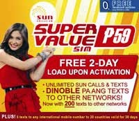SUN Super Value Sim
