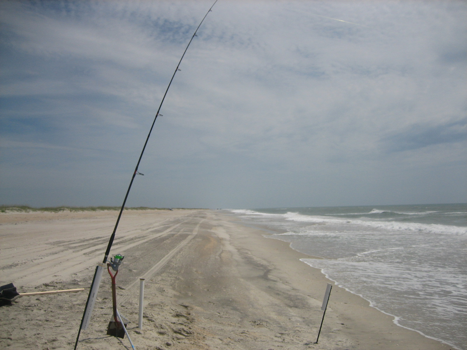 Fin 39 n feather fishing report cape lookout in june for Cape lookout fishing report