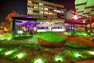 Клуб 35 София - градинас диодно осветление 1