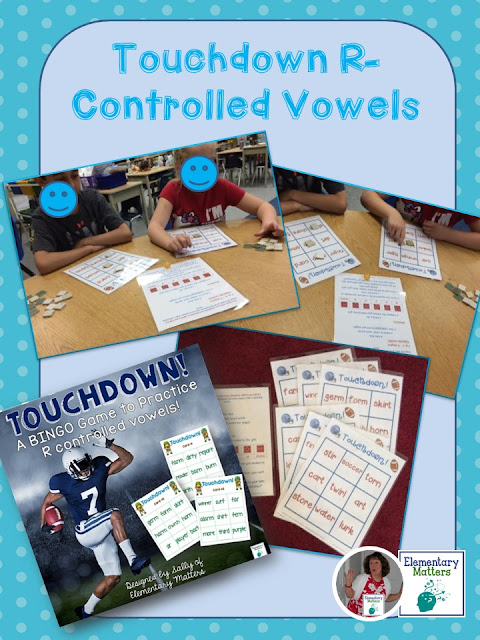 football theme vowel practice
