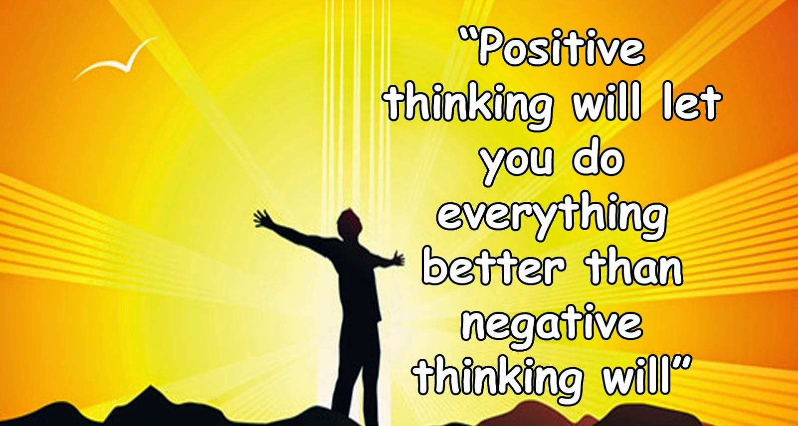 Tips to avoid negative thoughts