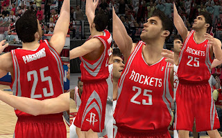 NBA 2K13 Houston Rockets Away Jersey Patch