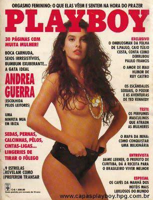 Andrea Guerra - Playboy 1991