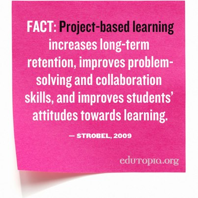 project based learning research Project- based learning and its effect on motivation in the  project-based learning and its  research base regarding project-based learning and the.