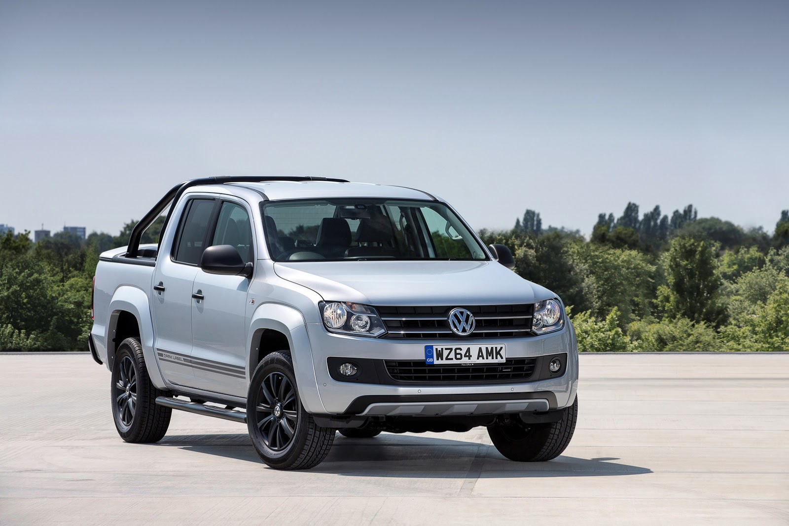 New Vw Amarok Dark Label Limited Edition Offered In The Uk