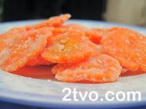 Cách làm mứt cà rốt ngon cho ngày tết