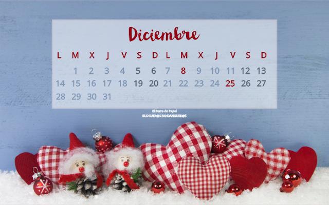 Calendario diciembre clouds and designs dise o gr fico - Calendarios navidenos personalizados ...