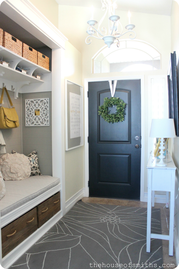 House Foyer : Our home tour front porch and entryway