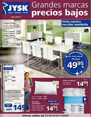 jysk catalogo de oferta del 21-10-13