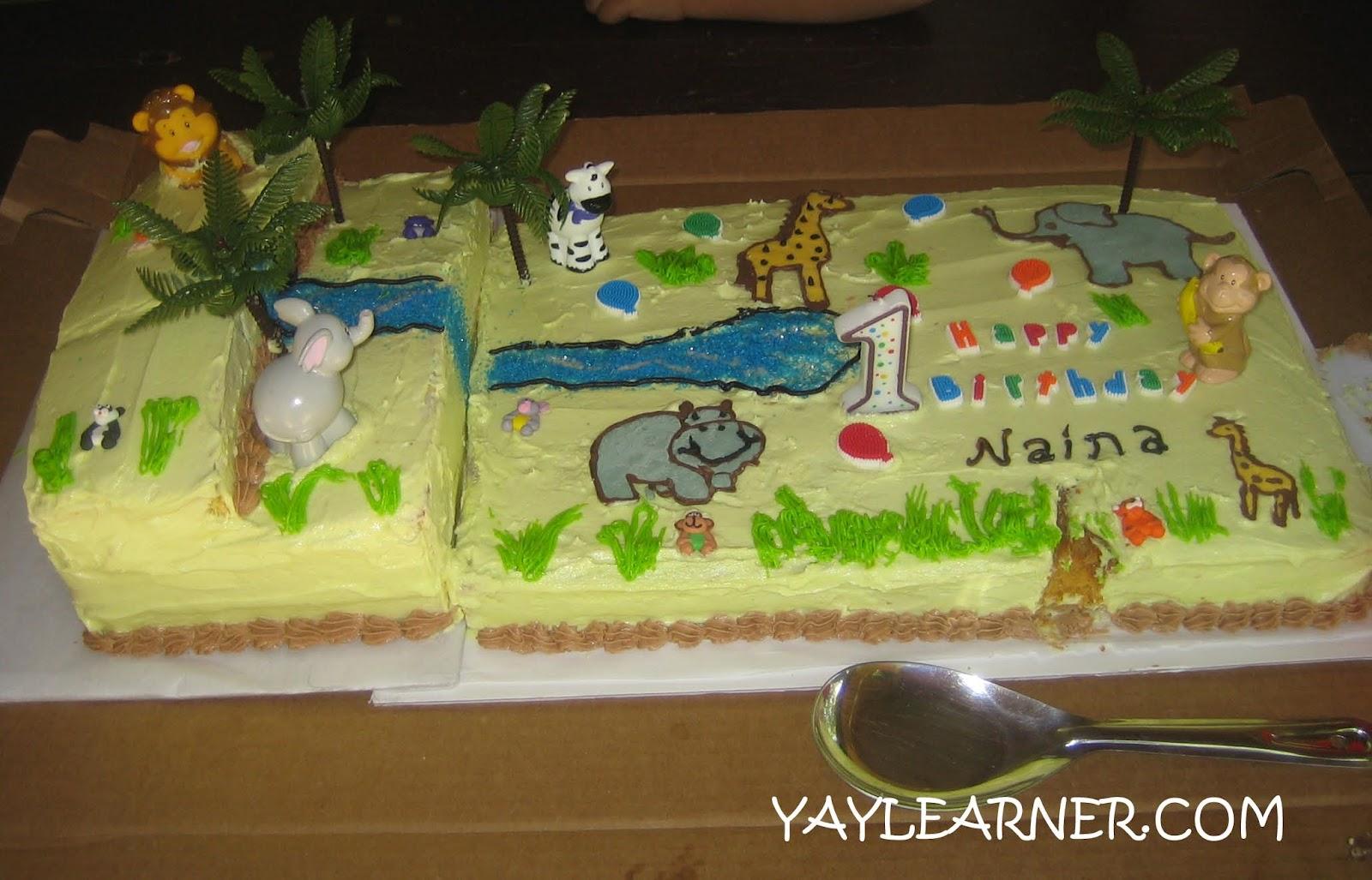 Rectangle Birthday Cakes With Flowers Cake layout - one rectangular