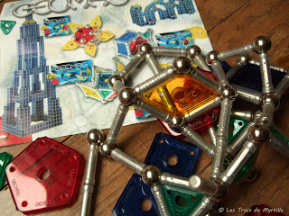 Geomag, jeu de construction magnétique - juin 2011 (lire l'article)