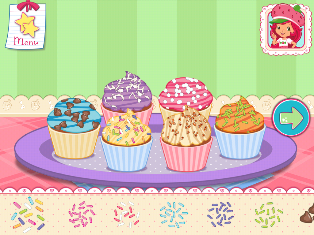 Strawberry Shortcake Bake Shop Games Berry Bitty Cakes