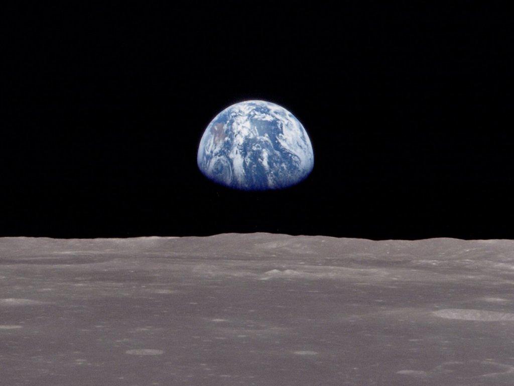 nasa earthrise 1968 - photo #26