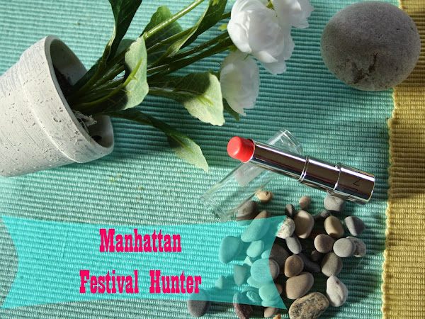 REVIEW   MANHATTAN Lipstick LE Festival Hunter