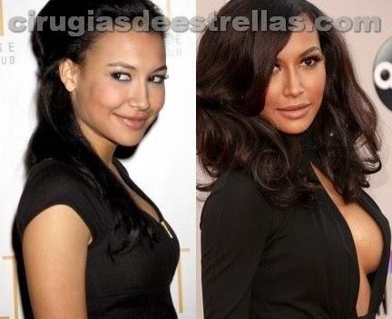 Naya Rivera antes y después