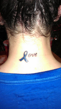My Christmas gift this year was a tattoo in honor and support of Danny :)