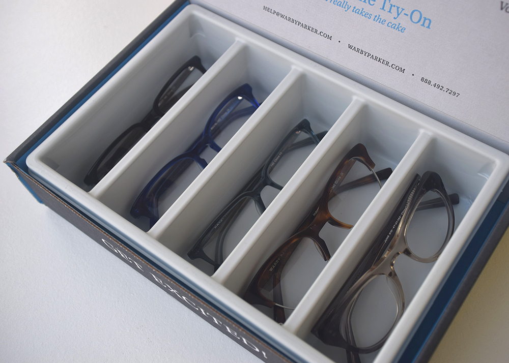 Warby Parker Home Try-On
