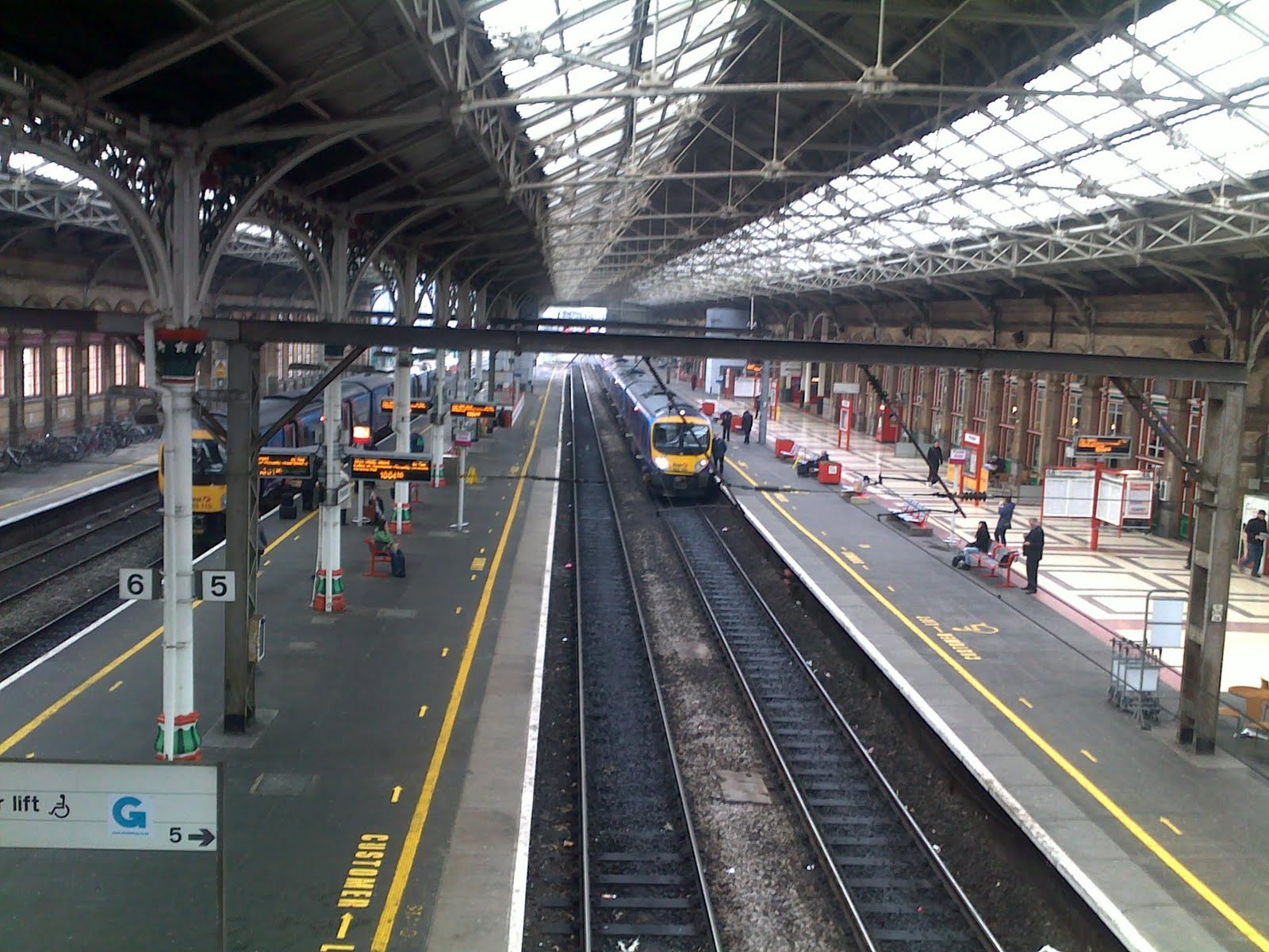 preston train station images. Black Bedroom Furniture Sets. Home Design Ideas