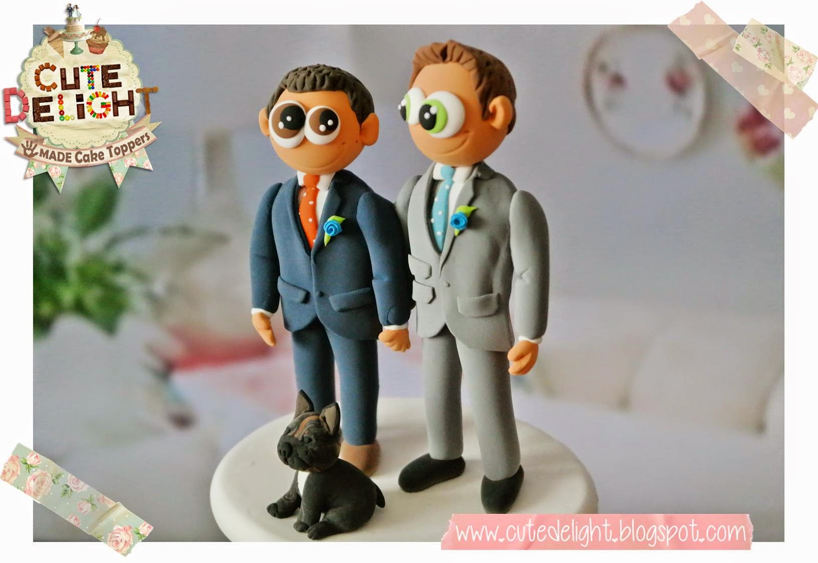 Funny Lesbian Cake Toppers