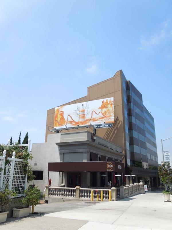 Svedka Orange Cream Pop billboard