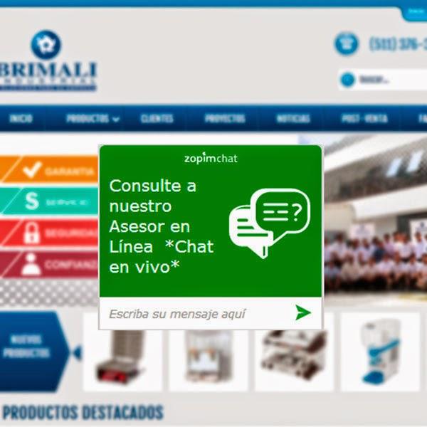 Brimali Industrial, equipamiento gastronómico y hotelera