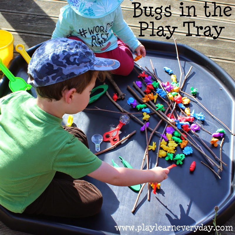 Bugs In The Play Tray Play And Learn Every Day