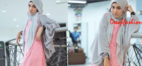 Trend Polkadots ala Hijabers Siti