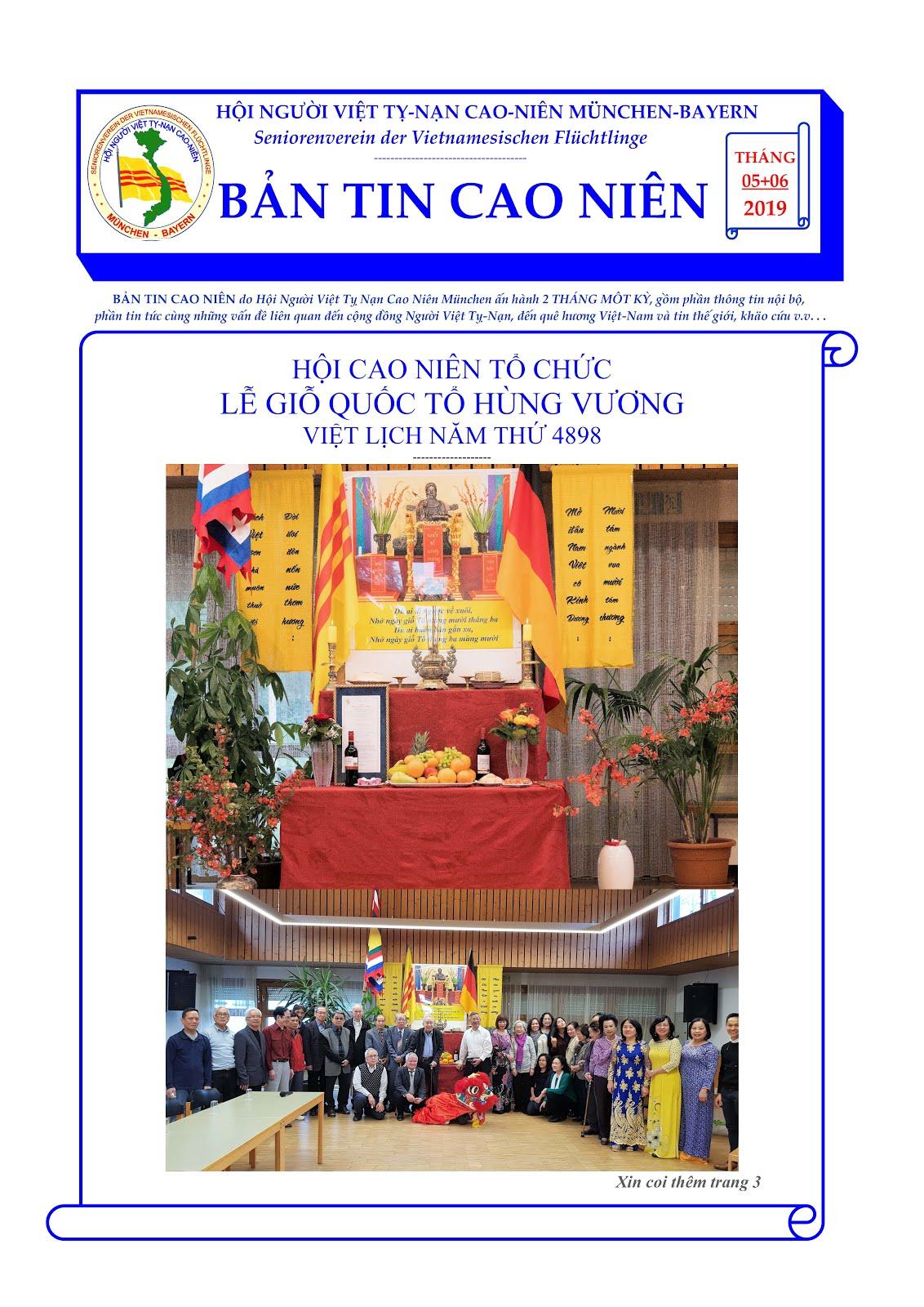 BẢN TIN CAO NIÊN 05-06-2019