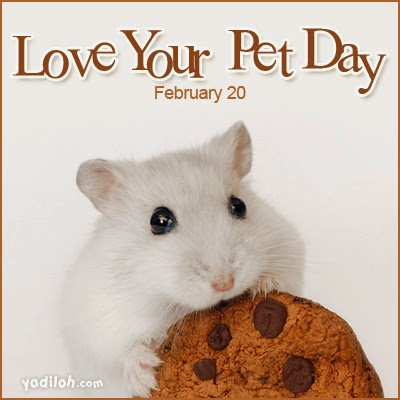 Happy National Love Your Pet Day