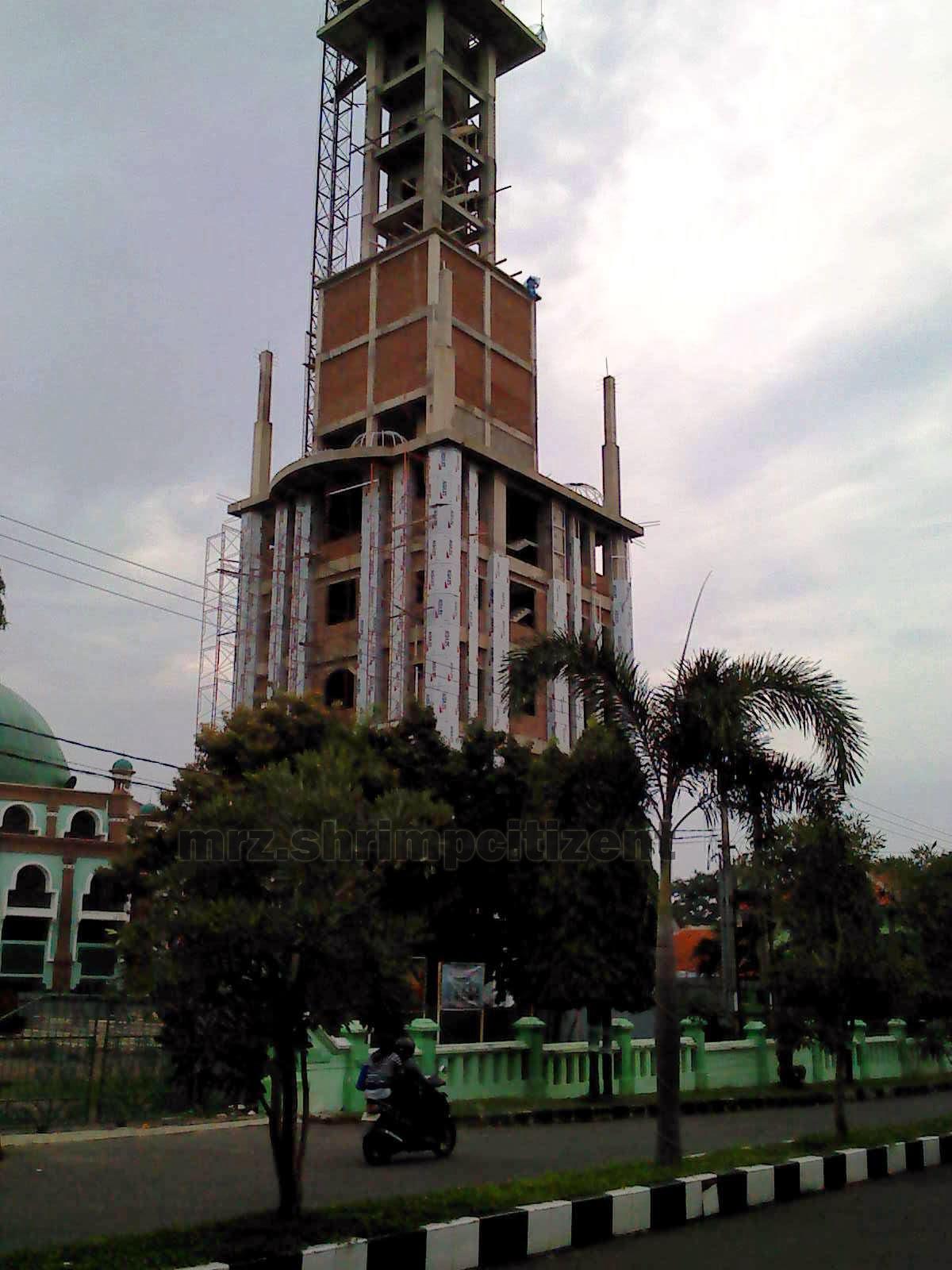 Pembangunan Menara Masjid Agung Sumber, Kab. Cirebon 6