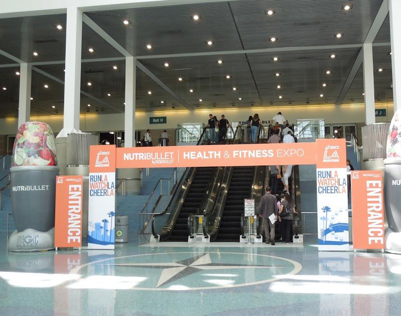 LA Marathon Expo entrance LA Convention Center