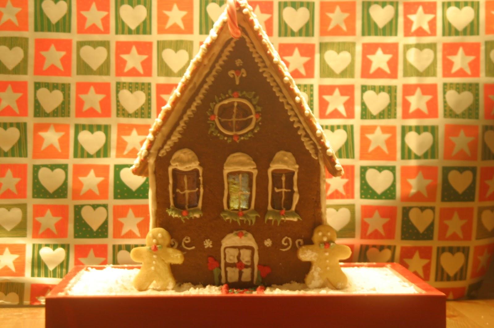 Ciudadana cake casa de jengibre navidad navidad for Casa jengibre