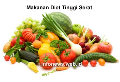 Makanan Diet Tinggi Serat | InfoNews