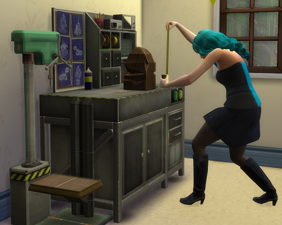 My Sims 4 Blog: TS2 Woodworking Bench Conversion by Biguglyhag