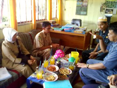 Kunjungan Tim Perencanaan Kanwil Kementerian Agama Prop. Kalimantan Selatan