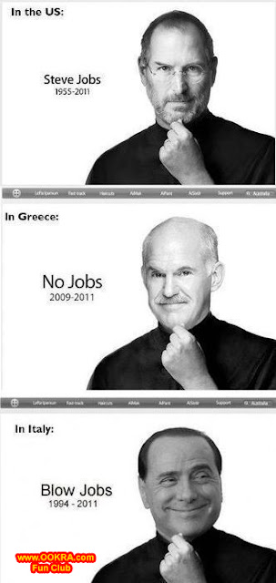 Funny Pictures of Steve Job