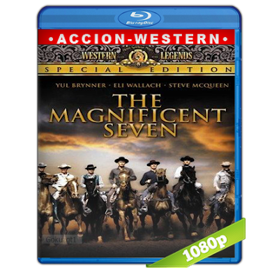 Los Siete Magníficos (1960) BRRip Full 1080p Audio Trial Latino-Ingles-Castellano 5.1